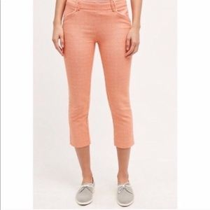 Anthro Cartonnier Charlie Cropped Trouser-Size 4